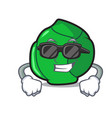 super cool brussels character cartoon style vector image