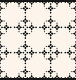 abstract floral texture black and white geometric vector image vector image