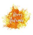 autumn logo collection vector image