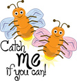 Catch Me vector image vector image