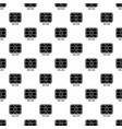 central microchip pattern seamless vector image