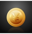 Coin JPY vector image