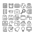 Education Icons 4 vector image vector image