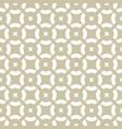 golden ornamental pattern subtle white and beige vector image vector image