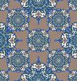 Hand drawing tile vintage color seamless parttern vector image