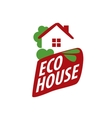 logo house vector image vector image