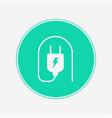 plug icon sign symbol vector image vector image