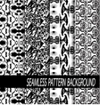 Seamless Abstract hand drawn pattern27 2 vector image vector image
