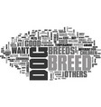 which breed is right for you text word cloud vector image vector image
