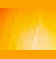yellow background with rays vector image vector image