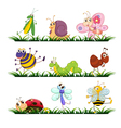 Bugs cartoon vector image vector image