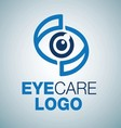 EYE CARE LOGO 10 vector image vector image