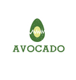 icon Avocado Fruit Food vector image