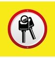 insurance car keys design icon vector image vector image