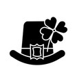 saint patricks day glyph icon vector image