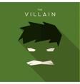 Mask Villain flat style icon logos