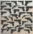 Guns vector image