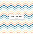 chevron pattern pastels color on white background vector image
