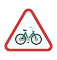 Cycle Stand sign vector image