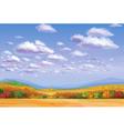 landscape sky vector image