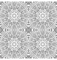 seamless pattern doodle ornament coloring vector image vector image