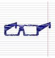 Tie icon vector image vector image