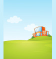 a school background template vector image vector image