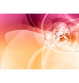background abstract purple and orange wave and vector image vector image