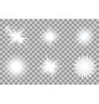 Collection of lights effect vector image vector image