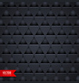 dark triangle texture pattern background vector image vector image