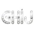 GHIJ vector image vector image