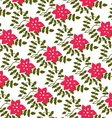 pink flowers and petals vector image vector image