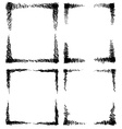 Scribble frames vector image vector image