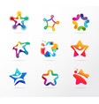star fitness sport excellence learning vector image vector image