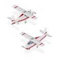 Airplane Mini Isometric View vector image