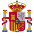 coat of arms of Spain vector image vector image