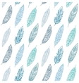 Ethnic Feathers Seamless Pattern vector image vector image