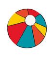 pool ball icon vector image vector image