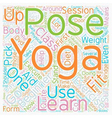 Yoga for Beginners How to take those first steps vector image vector image