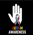 Autism Awareness sign vector image vector image