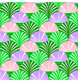 background with simple flovers and leaves vector image vector image
