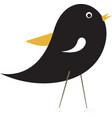 bird icon image vector image vector image