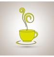 coffee icon design vector image