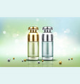 cosmetics bottles beauty skin care cosmetic tubes