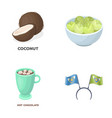 food cooking and other web icon in cartoon style vector image vector image