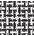 monochrome seamless pattern of rectangles shaped vector image vector image