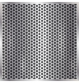metallic silver cell background vector image
