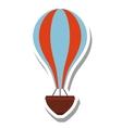 balloon air hot flying vector image