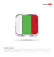 bulgeria flag design vector image