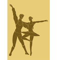 Carved Ballet vector image vector image